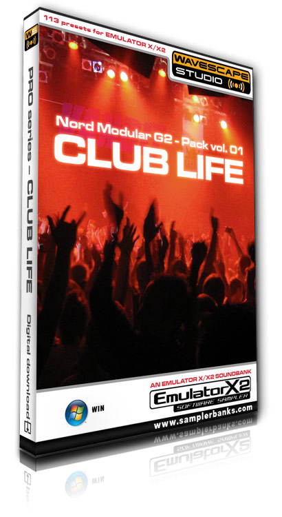 Product picture DJ samples - Club Life - E-MU Emulator X/X2 format