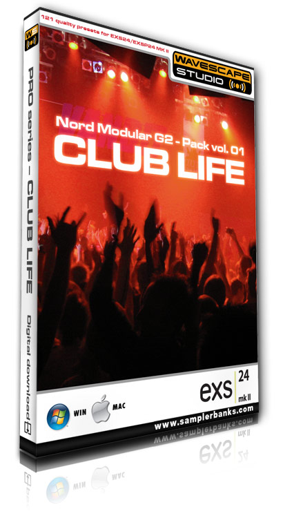 Product picture DJ samples - Club Life - Apple EXS24 mk2  format