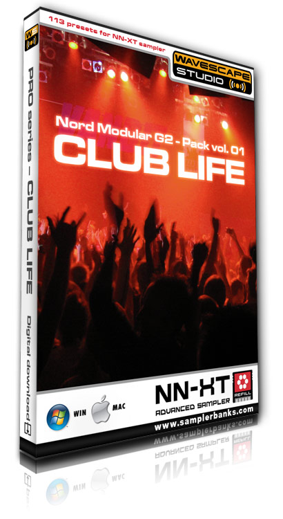 Product picture DJ samples - Club Life - Reason ReFill format