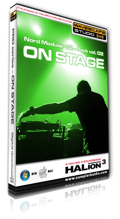 Product picture DJ samples - On Stage - Steinberg HALion 3  format