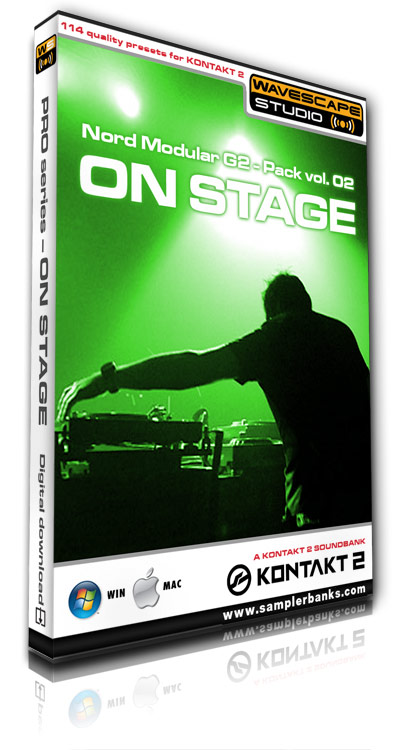 Product picture DJ samples - On Stage  - Kontakt 2/3 format