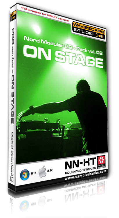Product picture DJ samples - On Stage - Reason ReFill format