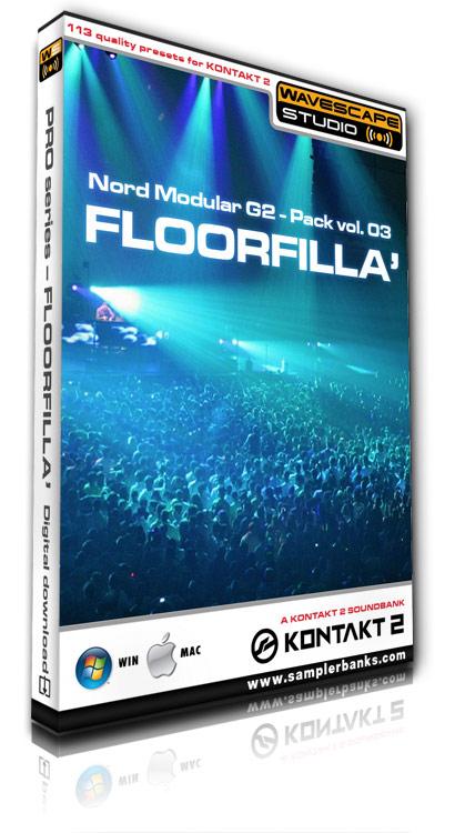 Product picture DJ samples - Floorfilla - Kontakt 2/3 format