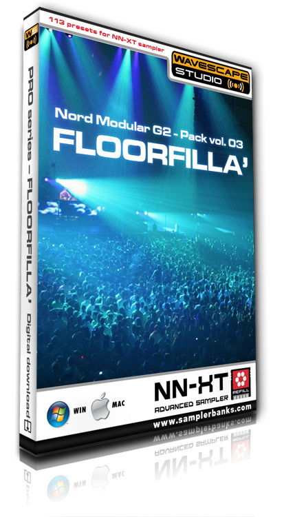 Product picture DJ samples - Floorfilla - Reason ReFill format